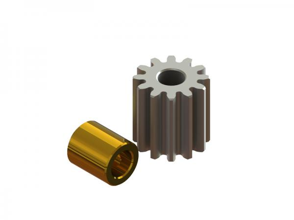 LYNX Blade 180 CFX Ritzel 12 Zähne Modul 0.4 - 2mm Welle