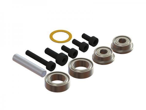 LYNX Blade 180 CFX Lager- und Schraubenset für Heckrotorgehäuse