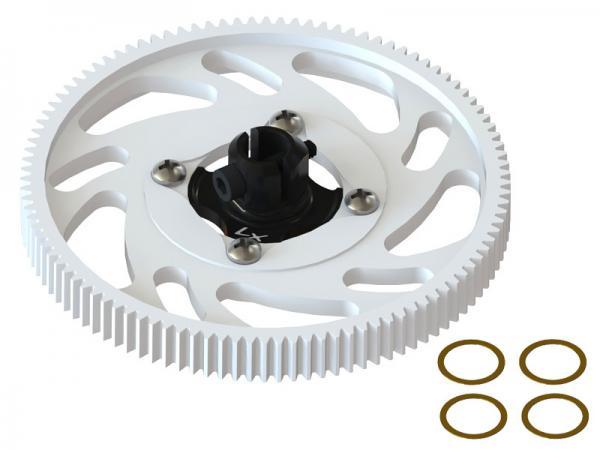 LYNX Blade 180 CFX Hauptgetriebe mit Hauptwellenhalterung - schwarz