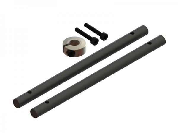 LYNX Blade 180 CFX Hauptwelle Carbon (2 Stück)
