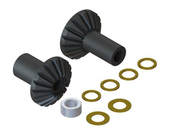 LYNX Blade 180 CFX Carbon Stahl Winkelgetriebe- Set A/B