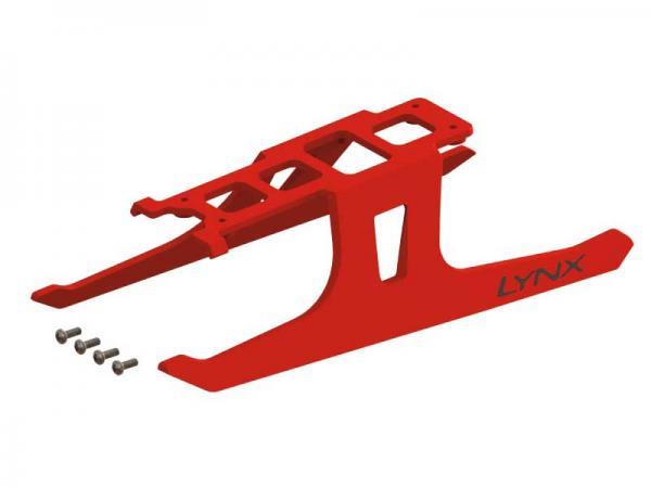 Lynx Blade 180 CFX Ultra Flex Landegestell - rot