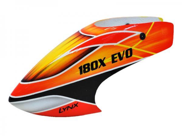 LYNX Blade 180 CFX Fiberglas Haube EVO Profile Schema 1