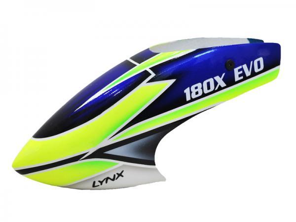 LYNX Blade 180 CFX Fiberglas Haube EVO Profile Schema 2