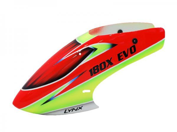 LYNX Blade 180 CFX Fiberglas Haube EVO Profile Schema 3