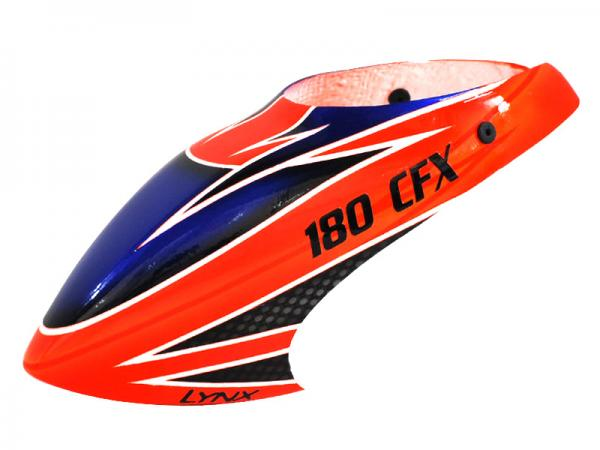 LYNX Blade 180 CFX Kabinenhaube Fiberglas lackiert