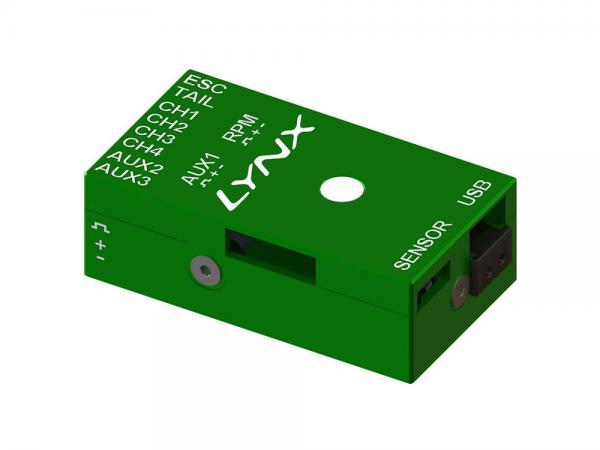 LYNX VStabi NEO V2 Aluminium Upgrade Gehäuse - grün