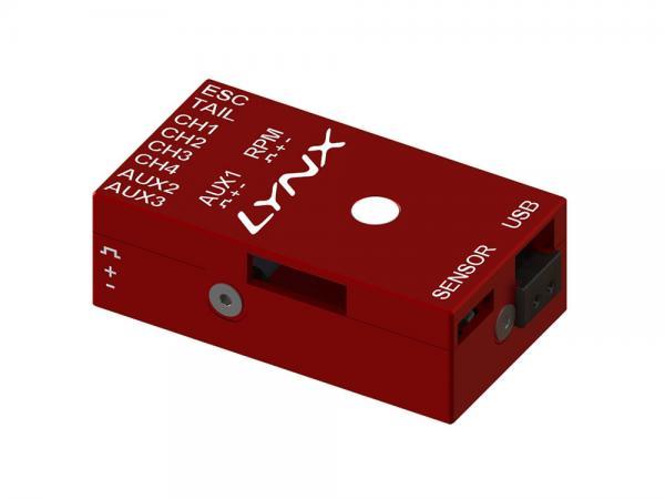 LYNX VStabi NEO V2 Aluminium Upgrade Gehäuse - rot