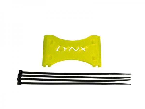 LYNX LOGO 700 Heckabstrebungs - Verbinder neon gelb