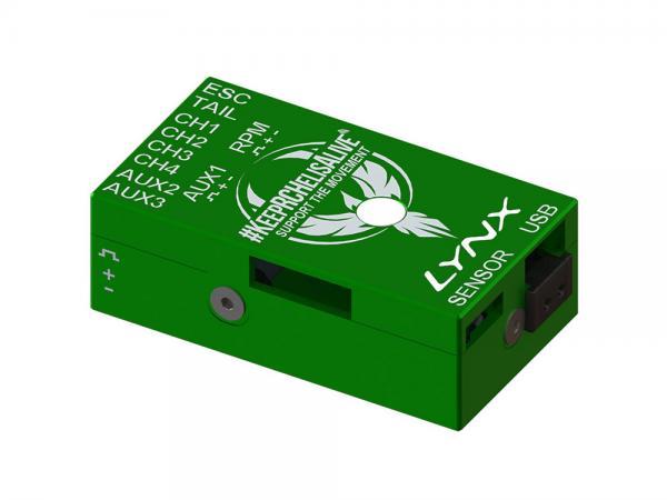 LYNX VStabi NEO V2 Aluminium Upgrade Gehäuse - grün - KRCHA Edition