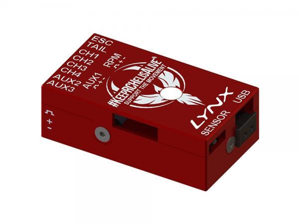 LYNX VStabi NEO V2 Aluminium Upgrade Gehäuse - rot - KRCHA Edition