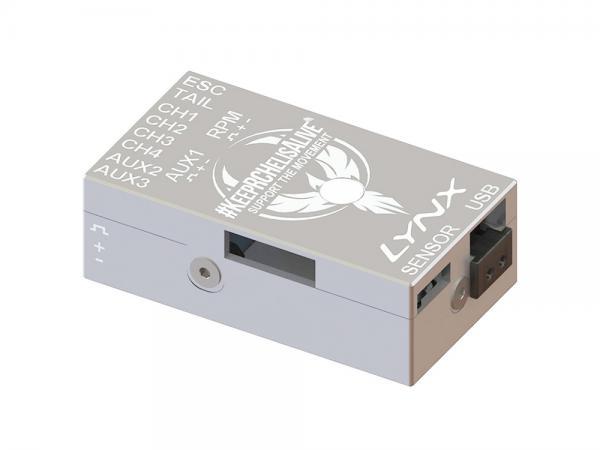 LYNX VStabi NEO V2 Aluminium Upgrade Gehäuse - silber - KRCHA Edition