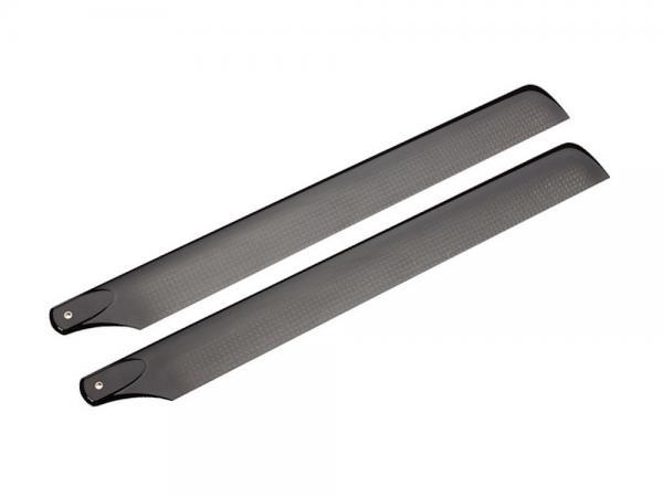 Lynx Carbon Hauptrotorblätter schwarz 205mm
