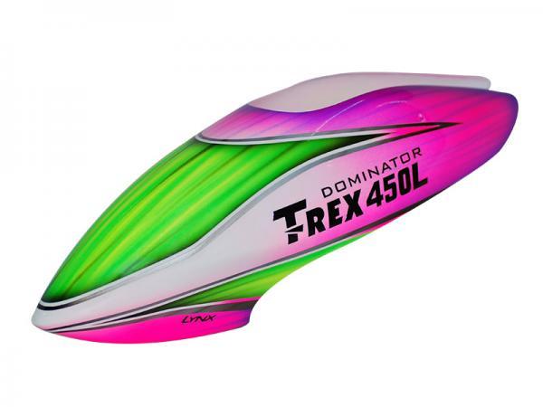 LYNX T-REX 450L Kabinenhaube Fiberglas lackiert