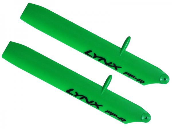 LYNX Kunststoff Hauptrotorblätter 135 mm Bullet Replica Edition - grün
