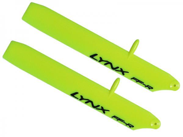 LYNX Kunststoff Hauptrotorblätter 135 mm Bullet Replica Edition - gelb