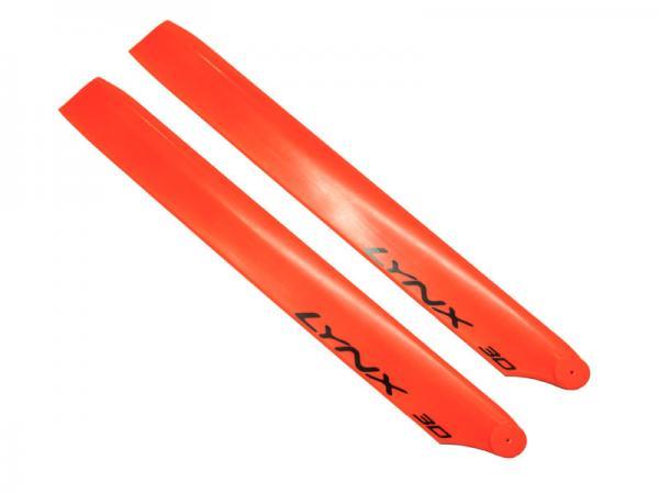 LYNX Blade 230S Kunststoff Hauptrotorblätter 240 mm - orange