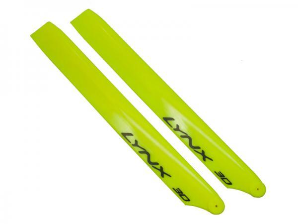 LYNX Blade 230S Kunststoff Hauptrotorblätter 240 mm - gelb