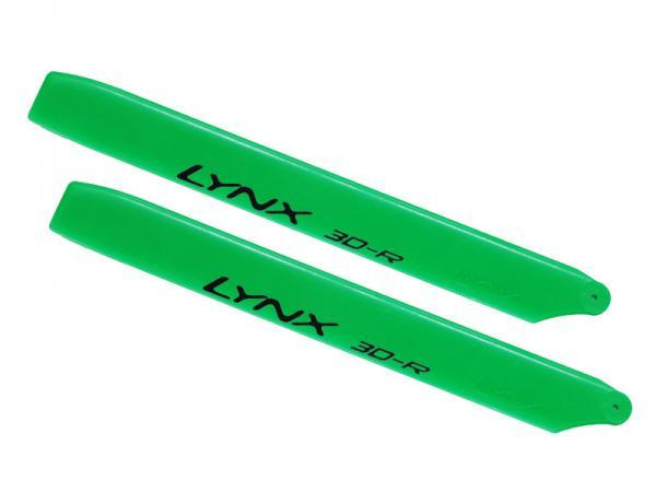 LYNX Kunststoff Hauptrotorblätter 160 mm Pro Edition - grün