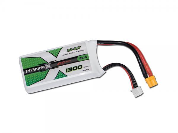 ManiaX LiPo 3S 1300mAh 11.1V ECO 30C