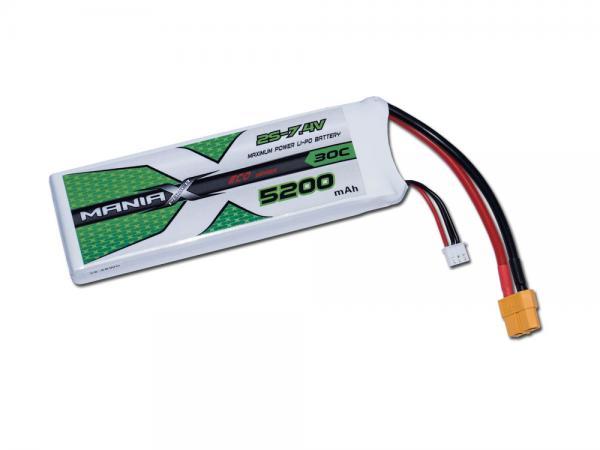 ManiaX LiPo 2S 5200mAh 7.4V ECO 30C