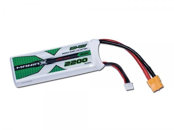 ManiaX LiPo 3S 2200mAh 11.1V ECO 30C