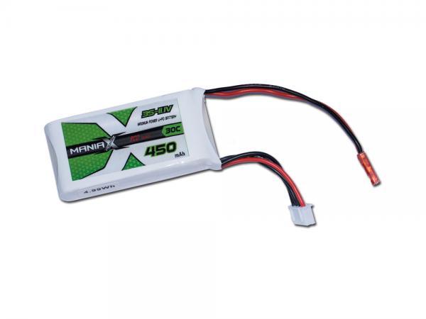 ManiaX LiPo 3S 450mAh 11.1V ECO 30C