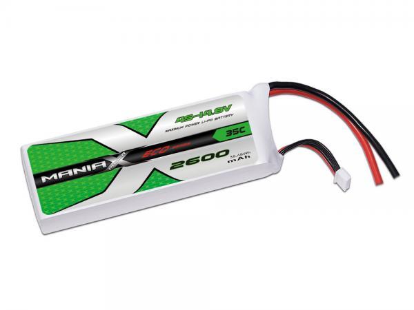 ManiaX LiPo 4S 2600mAh 14.8V ECO 35C