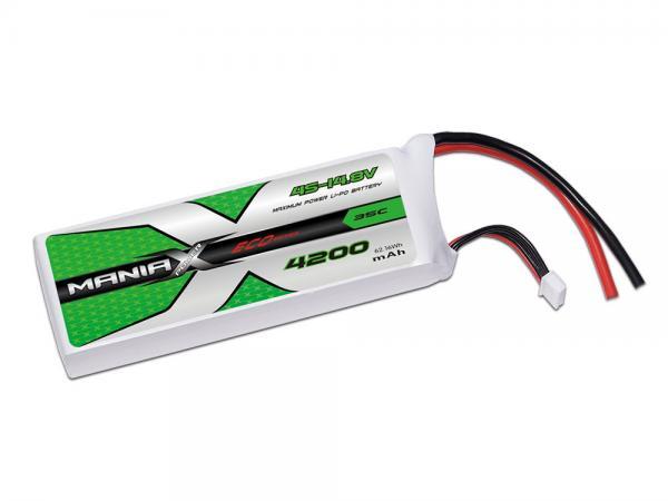 ManiaX LiPo 4S 4200mAh 14.8V ECO 35C