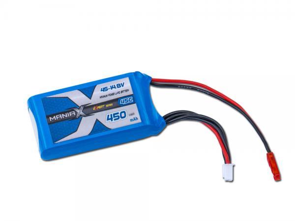 ManiaX LiPo 4S 450mAh 14.8V eXpert 45C