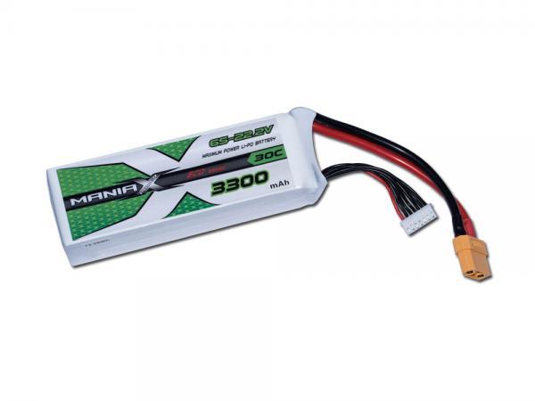 ManiaX LiPo 6S 3300mAh 22.2V ECO 30C