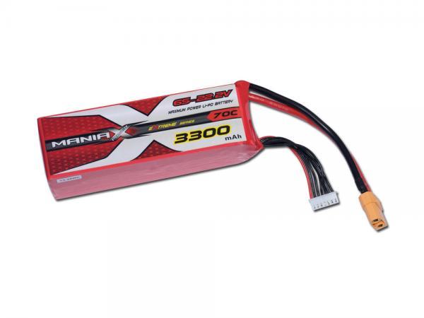 ManiaX LiPo 6S 3300mAh 22.2V eXtreme 70C