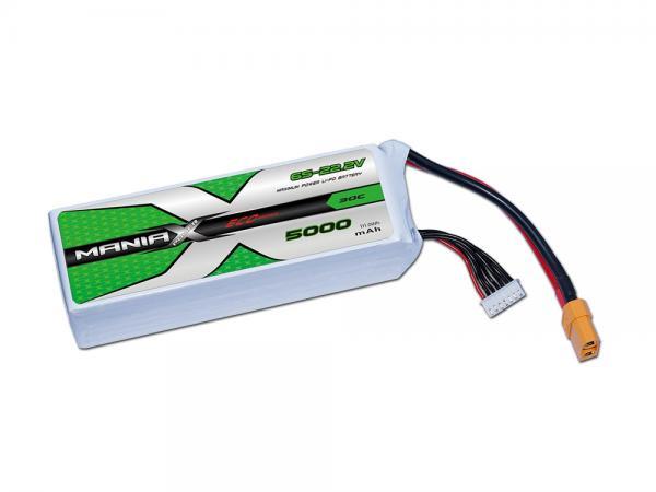 ManiaX LiPo 6S 5000mAh 22.2V ECO 30C