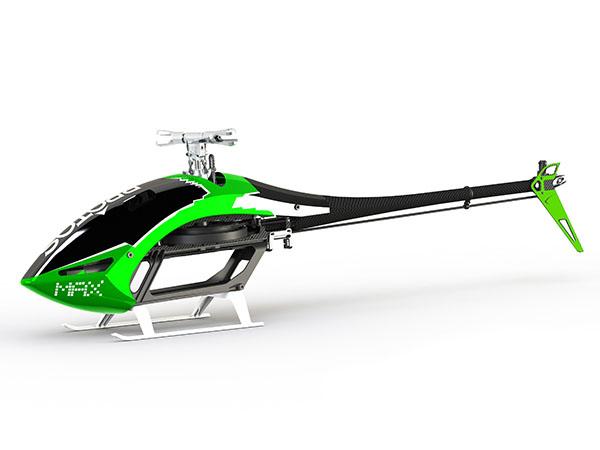 MSH Protos 800x Evo - Green MECHANICS ONLY