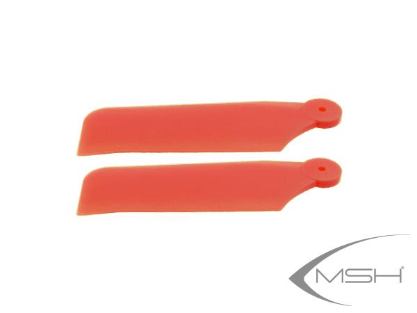 MSH Protos 380 Heckrotorblätter Kunststoff rot
