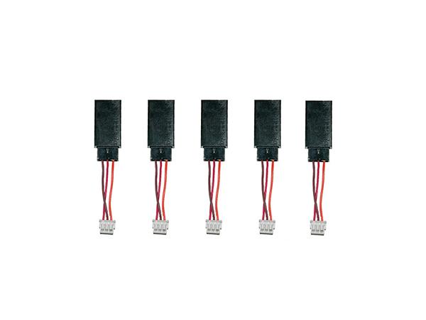 MSH Brain Kabel JR Buchse zu JST Micro 50mm (5 Stück)