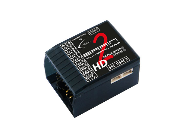 MSH Brain 2 HD Flybarless System