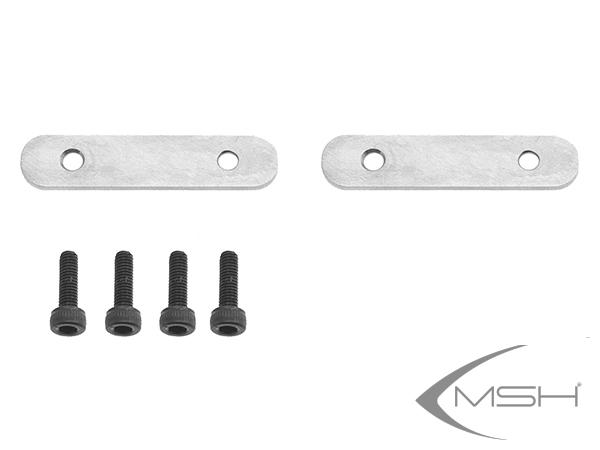MSH Protos Max V2 Unterlegplatten für Motorbefestigung (2x) # MSH71021