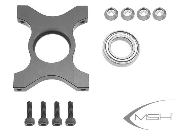 MSH Protos Max V2 Unterer 3. Hauptwellenlagerbock # MSH71023