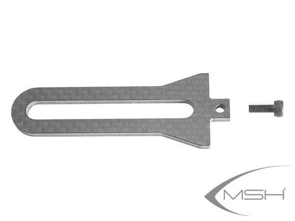 MSH Protos Max V2 Taumelscheibenführung carbon # MSH71054