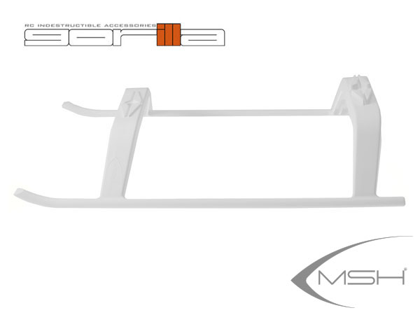 MSH Protos Max V2 Landegestell - Gorilla Gear - weiß