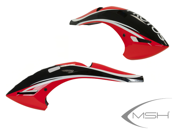MSH Protos Max V2 Haube evoluzione rot # MSH71192