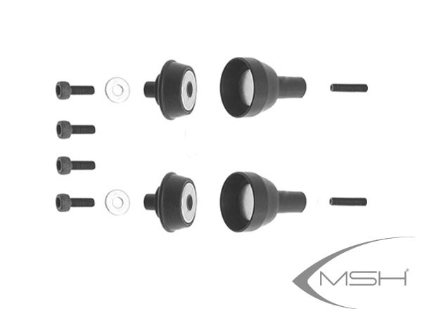 MSH Protos Max V2 Magnet Haubenverschlüsse evoluzione (2x) # MSH71199