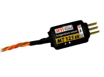 Jeti Temperatursensor bis 125°C MT125-EX