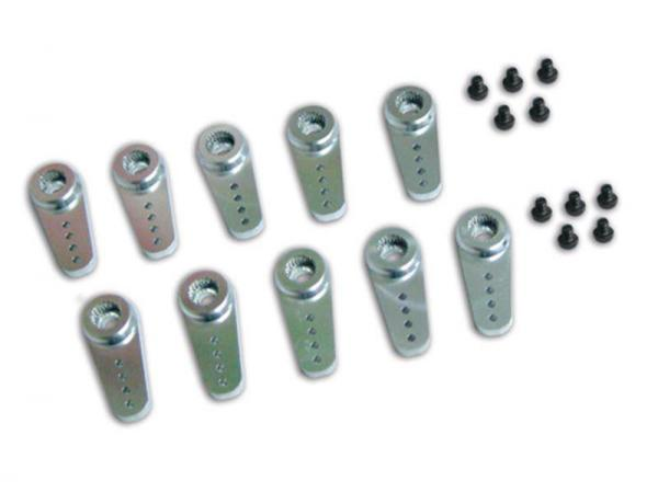 MKS Servohorn Metall - Länge 22mm - DS6125/M/H, HBL6625/M - 10 Stück