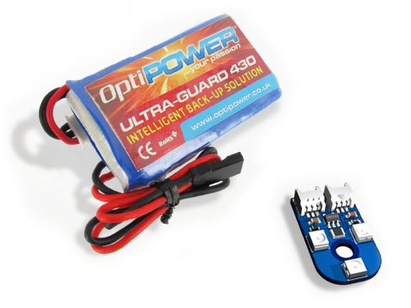 OptiPOWER Ultra-Guard 430 mit 2S LiPo und LED