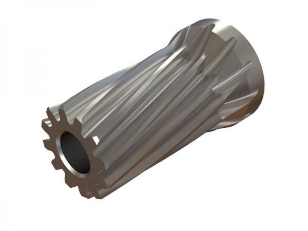 OXY Heli OXY4 Ritzel 12 Zähne 3,17mm Welle schräg- verzahnt