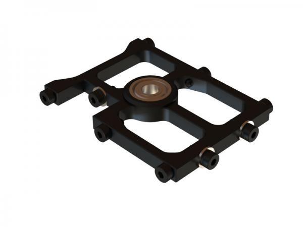 OXY Heli OXY3 mittlerer Alu Hauptwellenlagerbock schwarz