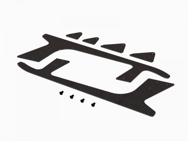 OXY Heli OXY4 Max CNC Landing Gear Skid Spare # OSP-1194