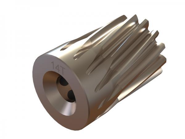 OXY Heli OXY5 Ritzel 14 Zähne 6mm Welle schräg- verzahnt